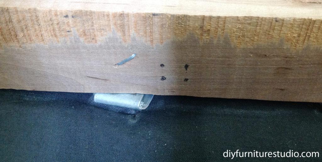 How to fix sofa springs.
