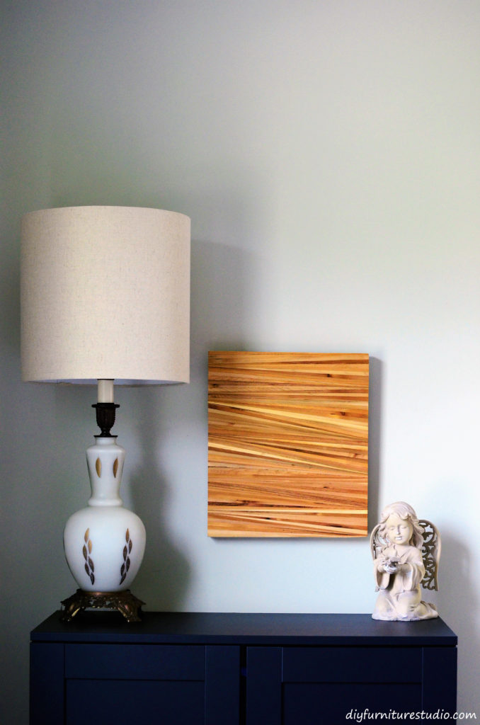 Diy Wall Decor Wood : Wood shim wall art diy furniture studio
