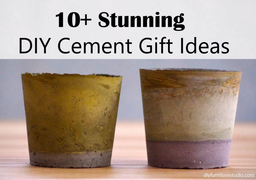 Who Knew 10 Stunning Diy Concrete And Cement Gift Ideas